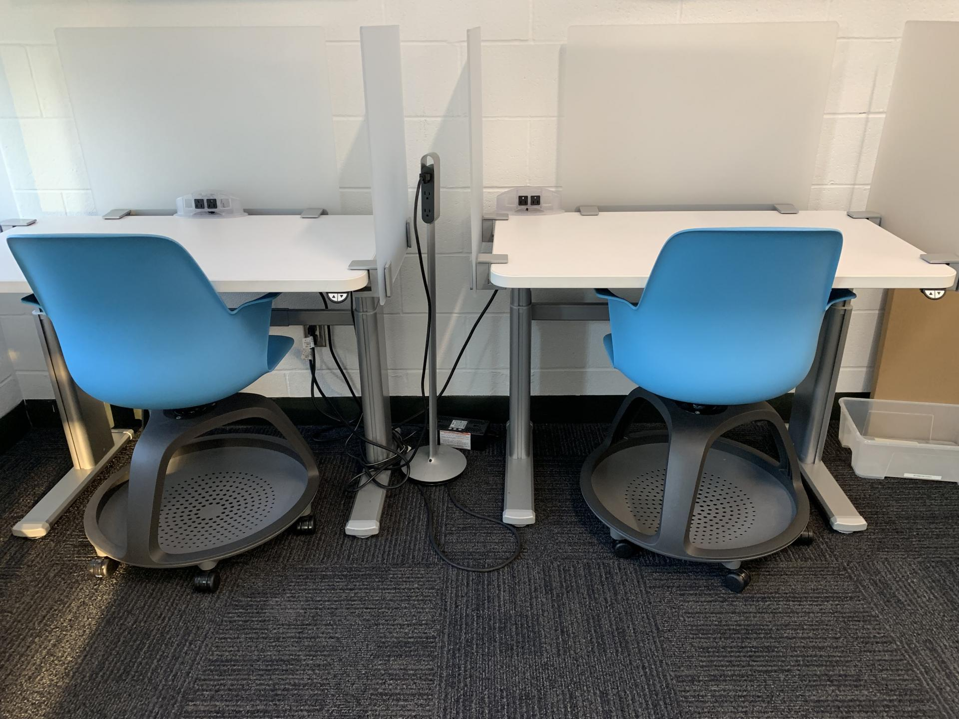 Salle de travail silencieuse