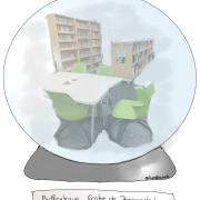 Center de Doc sous globe