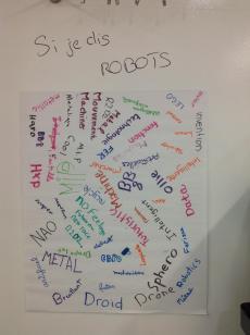 Affiche robot