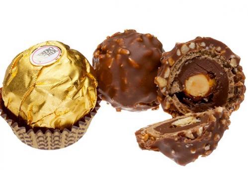 Ferrero rocher chocolate balls candy 127519 w