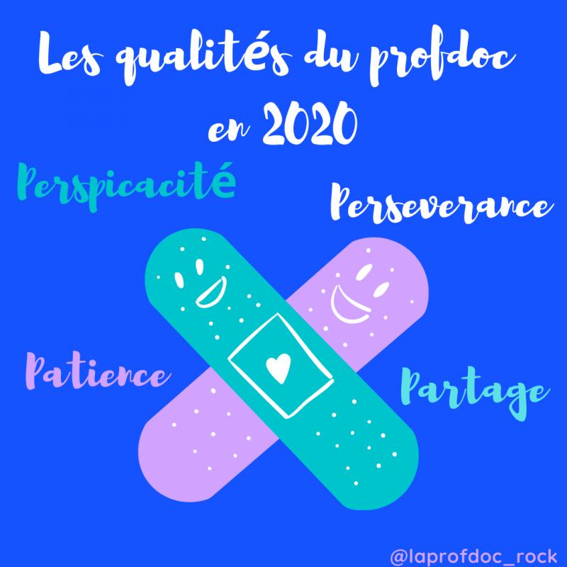 Les qualites du profdoc en 2020 1