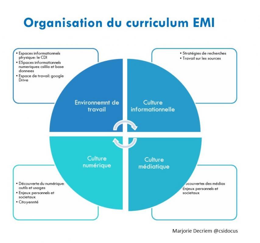 Organisation 4 themes emi