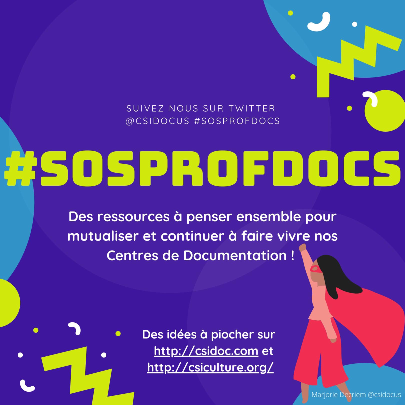 #SOSProfdocs