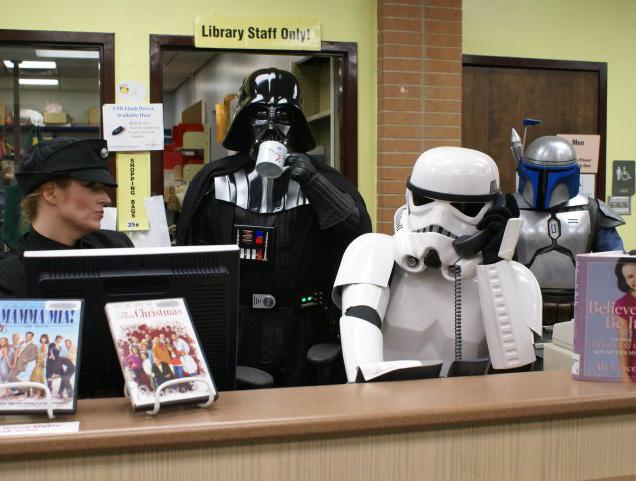 Star wars staff